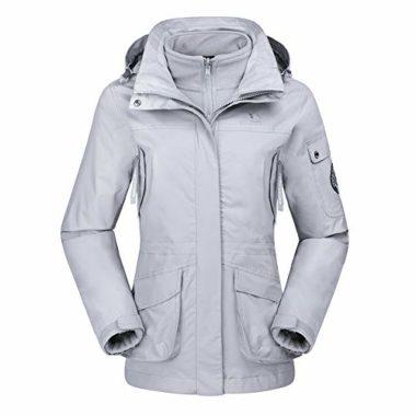 Camel Crown Windbreaker Women's Ski Jacket