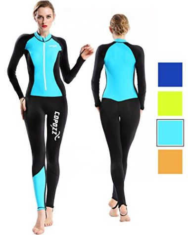 Copozz Full Body Thin Women's Wetsuit