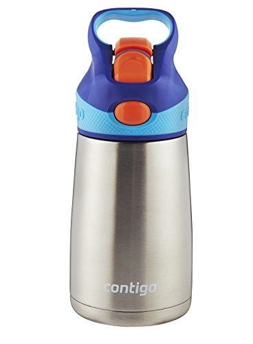 Contigo Autospout Straw Kids Water Bottle