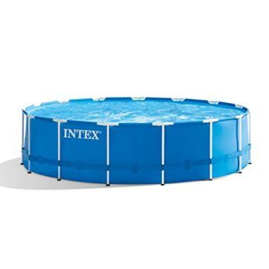 Intex 15ft X 48in Metal Frame Above Ground Pool