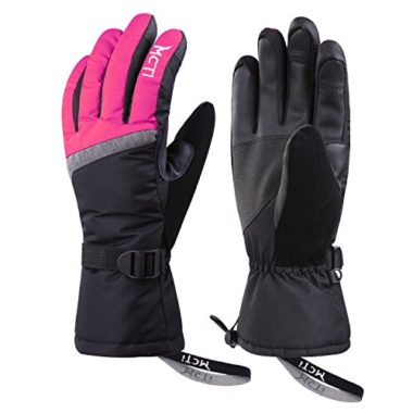 Fazitrip Men/'s 3M Thinsulate Waterproof and Windproof Ski Gloves//Winter Gloves f