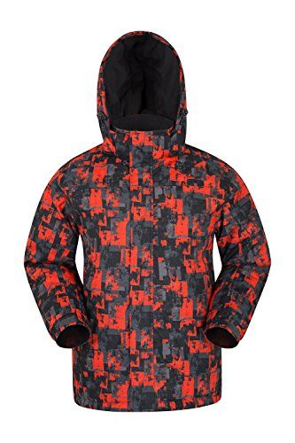 Mountain Warehouse Shadow Mens Printed Snowboard Jacket