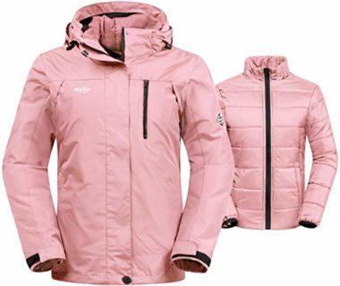 Wantdo Waterproof Women's Ski Jacket