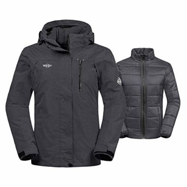 Wantdo Women's 3-in-1 Snowboard Jacket