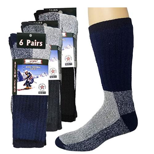 Debra Weitzner Thermal Ski Socks