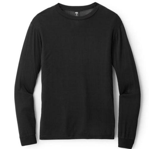 Men's REI Co-op Silk Long Underwear Crew Shirt