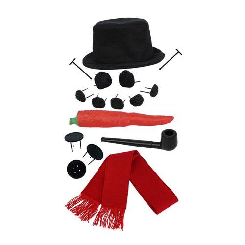 Evelots Perfect Snowman Decorating Kit