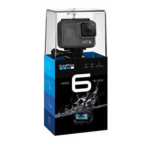 GoPro Hero6 Black Camera For Skiing