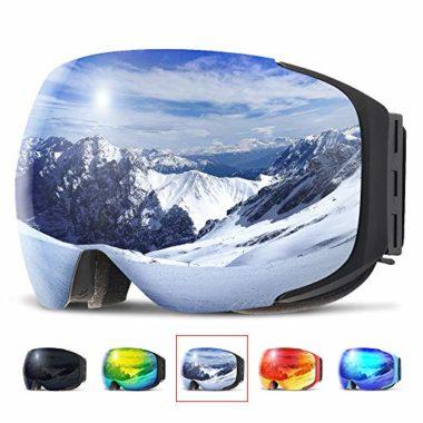 Copozz Magnetic Anti-Fog Ski Goggles
