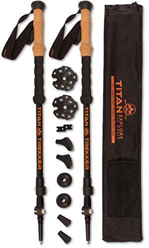 Titan Outfitter  Carbon Fiber Snowshoe Poles