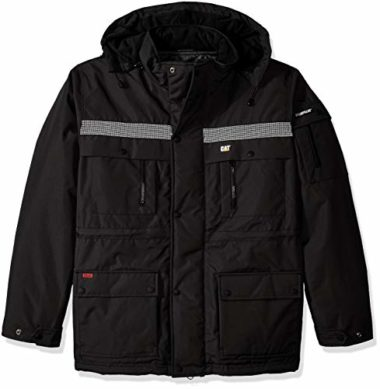 Caterpillar Men's Heavy Insulated Parka Winter Jacket