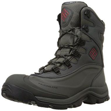 Columbia Men's Bugaboot Plus III Omni Boots for Snowshoeing