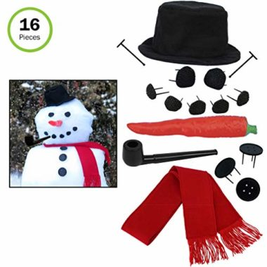 Evelots Snowman Kit Snow Toy
