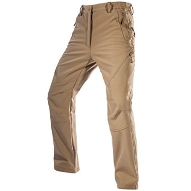 Free Soldier Men's Fleece Lined Ski Pants