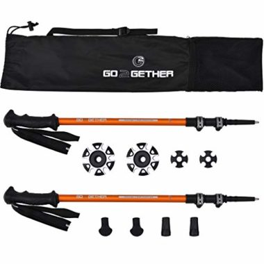 G2 GO2GETHER Auto-Adjustable Snowshoe Poles