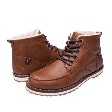 GLOBALWIN Mens Classic Winter Boots