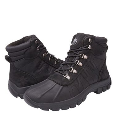 KINGSHOW Mens Winter Boots