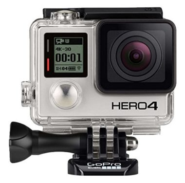 GoPro Hero4 Black Camera for Skiing