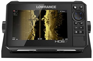 Lowrance HDS-7 Live Chartplotter Fishfinder Combo