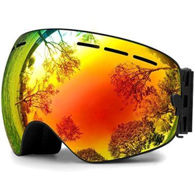 Hongdak Anti-Fog Ski Goggles