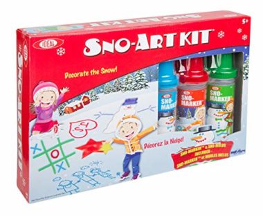 Ideal Sno-Art Kit Snow Toy