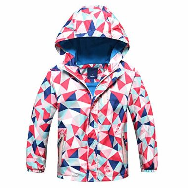 Jingle Bongala Boys Girls Waterproof Ski Jacket For Kids