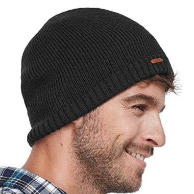 LETHMIK Fleece Lined Ski Hat