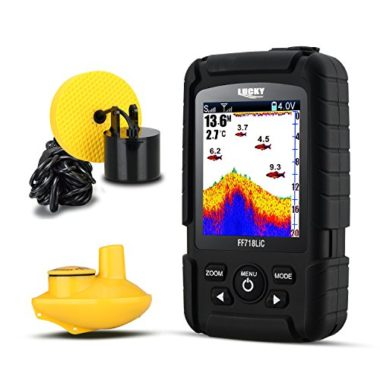Lucky Wired and Wireless Portable Fish Finder