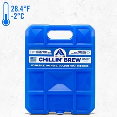 Arctic Ice Chillin' Brew Cooler Ice Packs