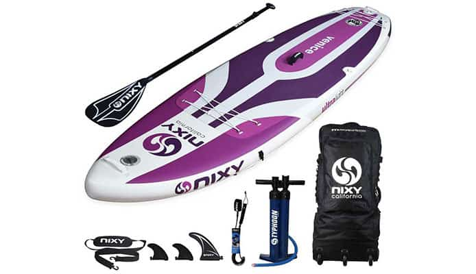 NIXY Venice G3 10.6 Yoga and Beginner Paddle Board Review