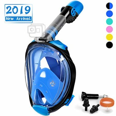 OUSPT Full Face Snorkel Mask