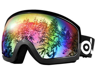 Odoland Double Lens Ski Goggles
