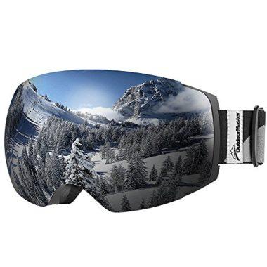 OutdoorMaster Frameless UV400 Ski Goggles
