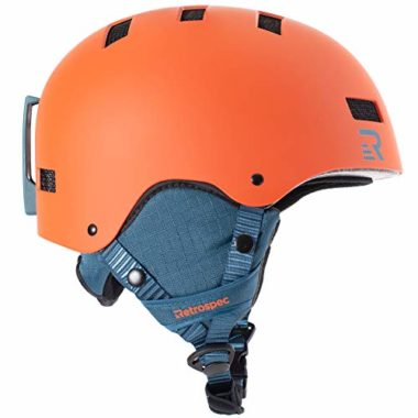 Retrospec Traverse H1 Convertible Ski Helmet