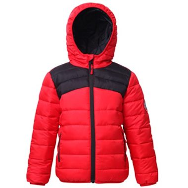 Rokka&Rolla Boys' Lightweight Reversible Ski Jacket For Kids