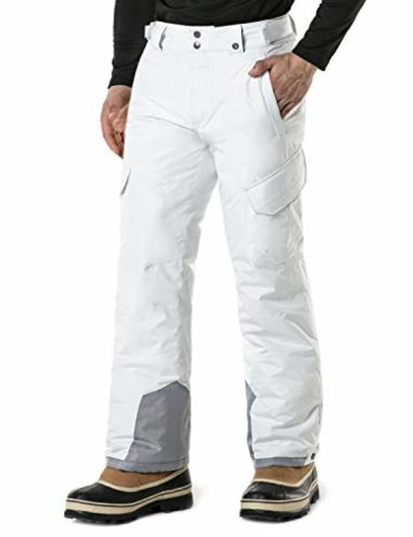 TSLA Men's Windproof Insulated Snowboarding Pants