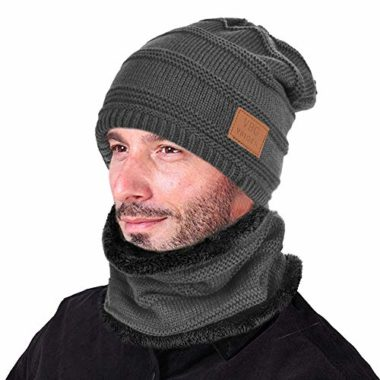 VBIGER 2-Piece Beanie Ski Hat