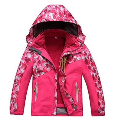 Valentina Boys and Girls Two-Piece Ski Jacket For Kids