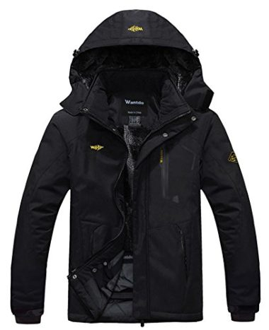 Wantdo Men's Mountain Ski Winter Jacket