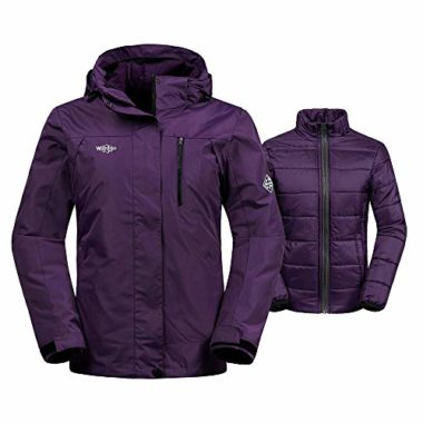 Wantdo Women's Parka Puffer Winter Jacket