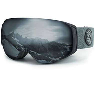 Wild Horn Outfitters Roca Premium Snowboard Goggles