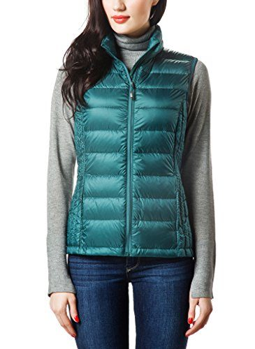 XPOSURZONE Women Packable Lightweight Down Vest