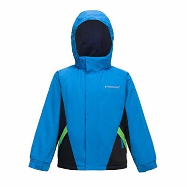 YINGJIELIDE Boy's Waterproof Ski Jacket For Kids