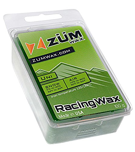 Zumwax Racing Ski and Snowboard Wax