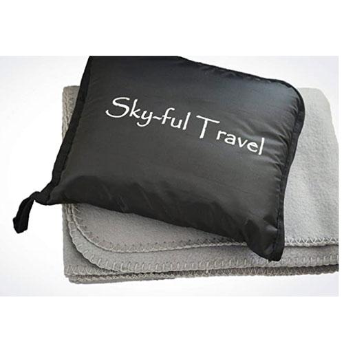 Sky-ful Water-Resistant Travel Blanket