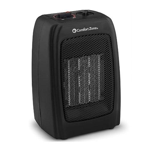 Comfort Zone Portable Ceramic Tent Heater