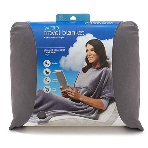 Travelrest Poncho Travel Blanket