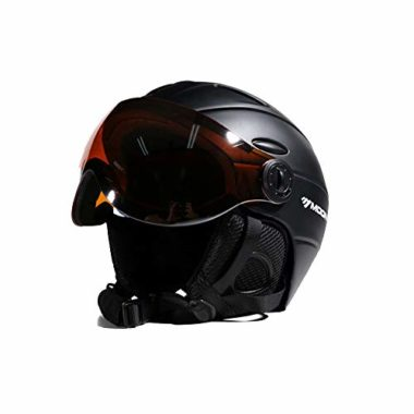 EnzoDate 2-in-1 Ski Helmet With Visors