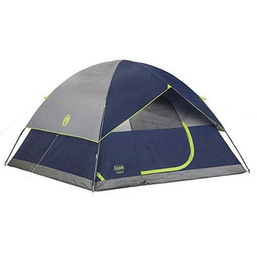 Coleman spacious interior Sundome Tent