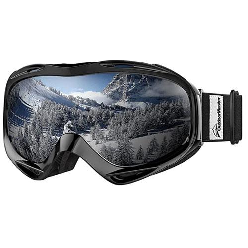 Outdoor Master OTG Ski Goggles For Flat Light